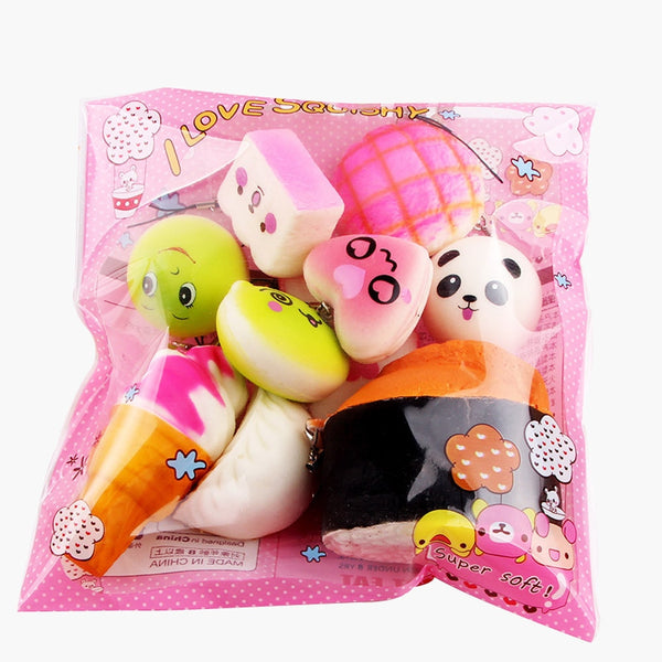 Mini Soft Squishy Toys