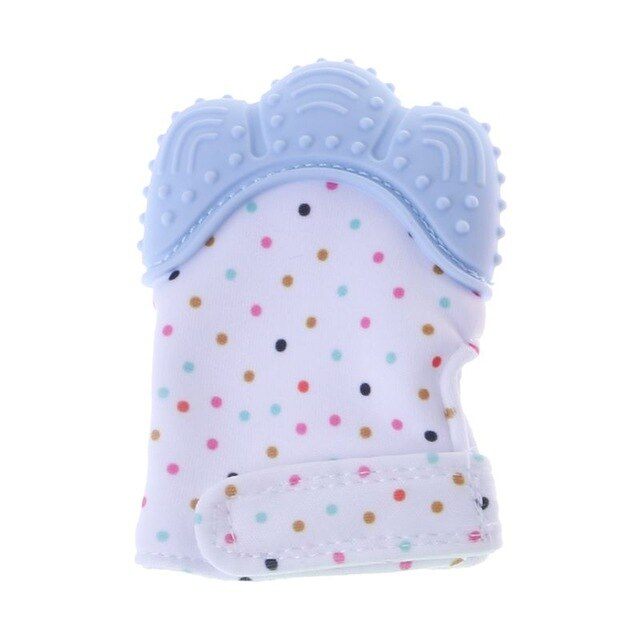 Silicone Teether Baby Pacifier Glove