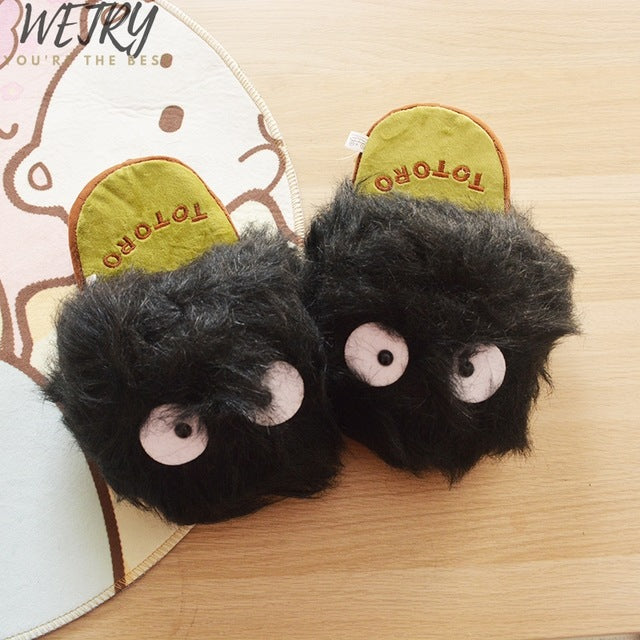 Kids Coral Fleece Indoor Slippers