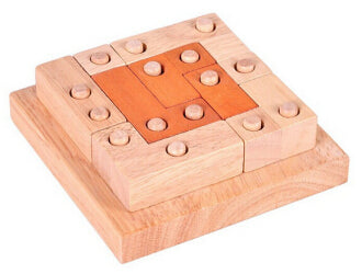 3D Wooden Puzzles Toy