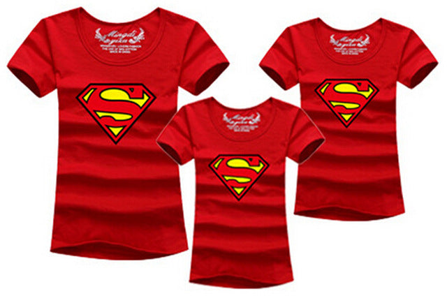 Superman Family Matching T-shirt