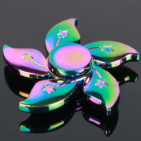 Colorful Flower Tri-spinner For Kids