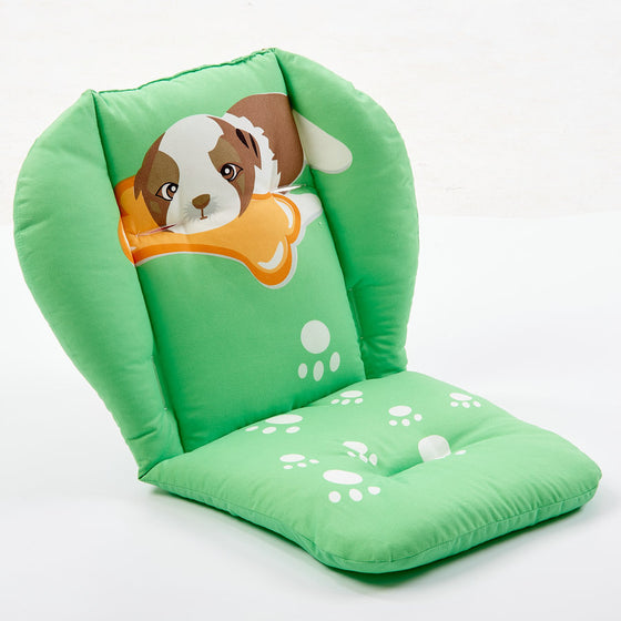 Seat Liners Warm Baby Cartoon Animal Chair Seat Cushion Cotton Mattress Pad Pillow Case Stroller Car Thick Car Seats & Accessories