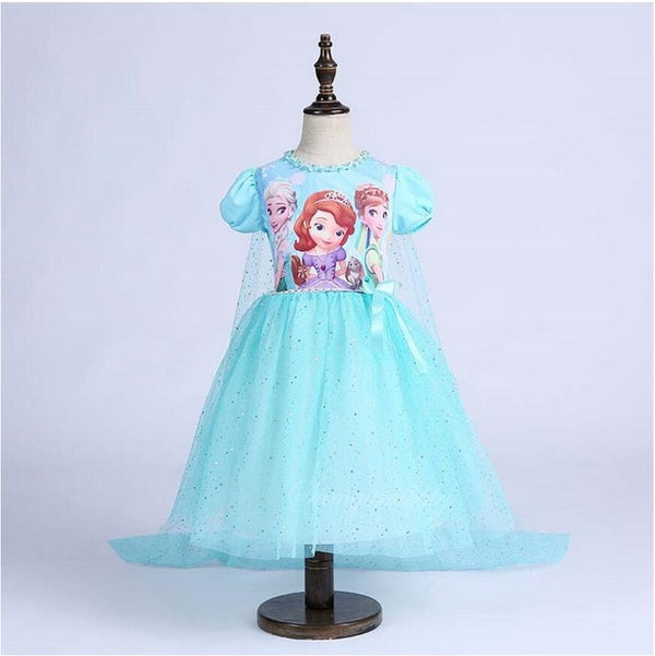 Kids Sofia Princess Party Costume