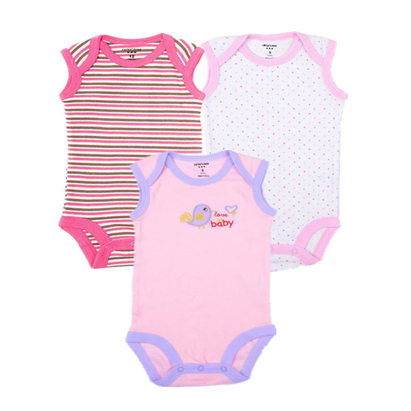 Baby Cotton Summer Sleeveles Bodysuits