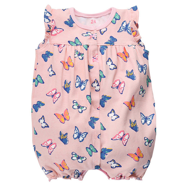 9099d639ac33f Brand Baby Rompers Summer Baby Girl Clothes 2017 Baby Boy Clothing Fashion  Newborn Baby Clothes Roupas Bebe Infant Jumpsuits