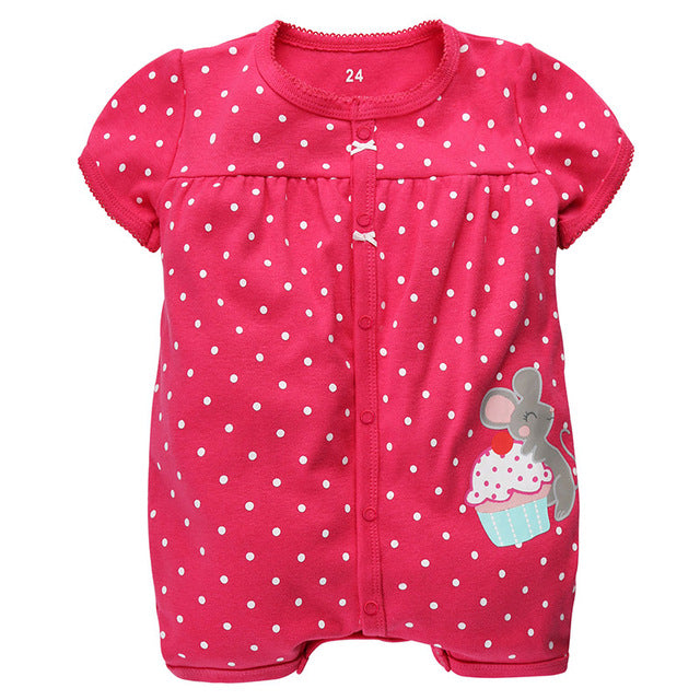 911b77642b60 Brand Baby Rompers Summer Baby Girl Clothes 2017 Baby Boy Clothing Fashion  Newborn Baby Clothes Roupas Bebe Infant Jumpsuits