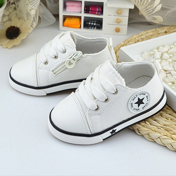 Breathable Canvas Shoes For girls