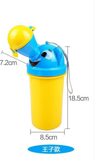 Portable child urinal baby