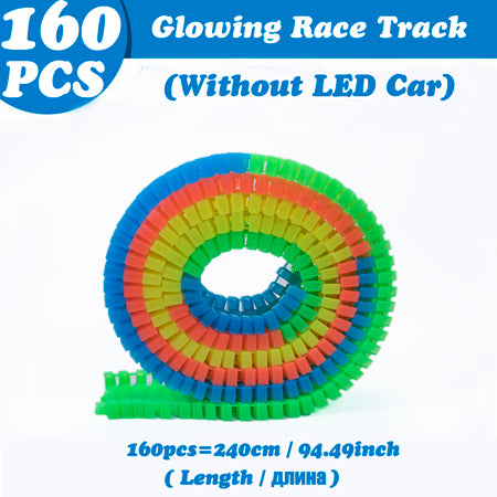 Magical Glowing Race Track