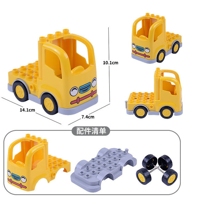Big Car Block Set