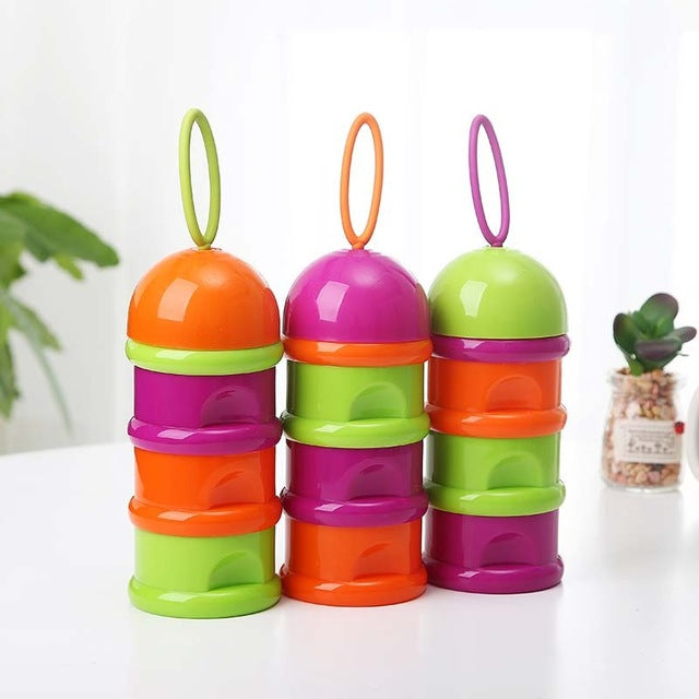 3 Layer Portable Container For Infant