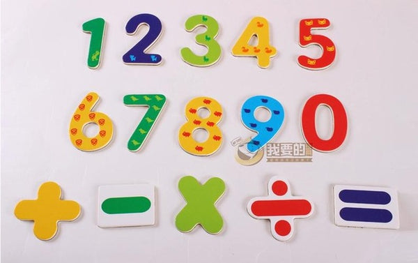 Fridge magnetic ABC