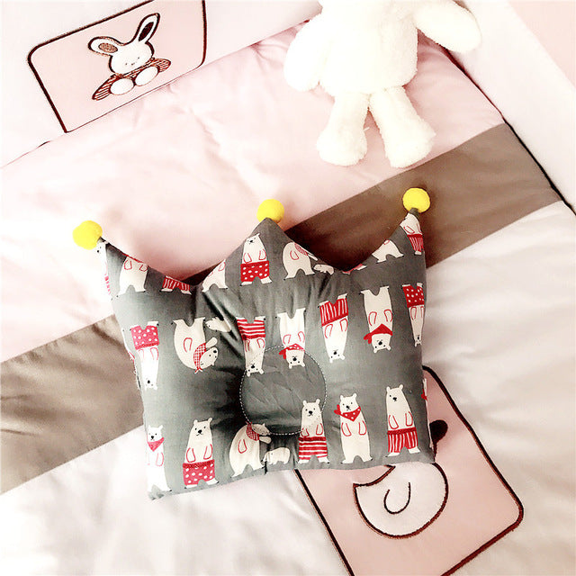 Crown shape  Baby pillow