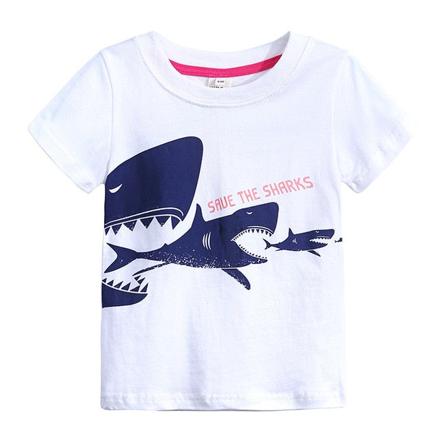 Animal Print Kids T-shirts