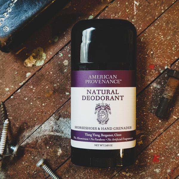 Natural Deodorant and Irritation
