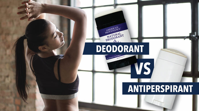 Deodorant vs Antiperspirant. What are the differences?