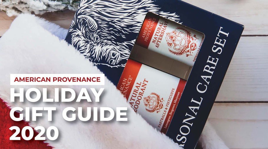 American Provenance Holiday Gift Guide 2020