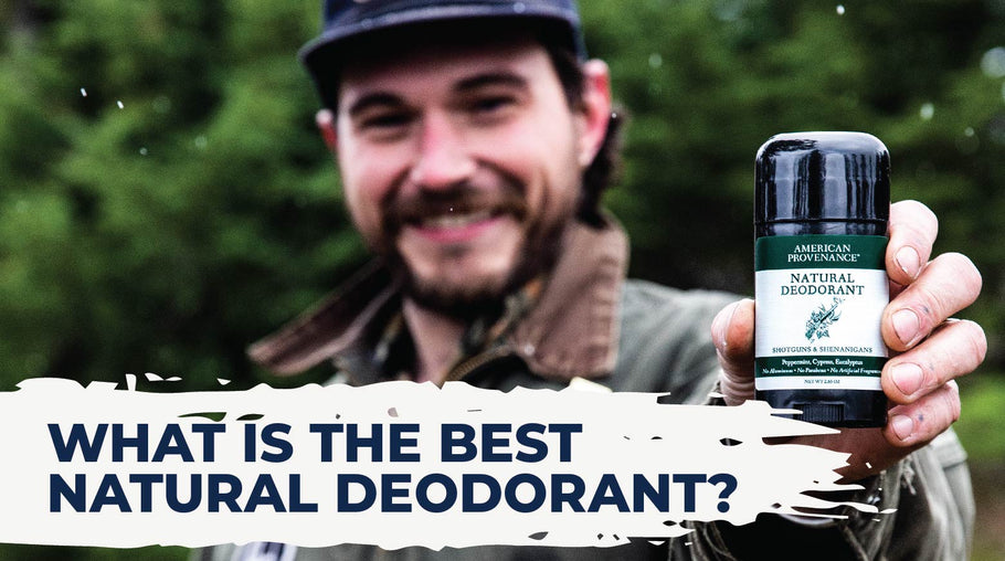 What is the Best Natural Deodorant?