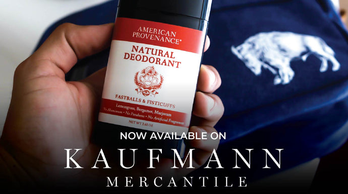 American Provenance is Now Available on Kaufmann Mercantile