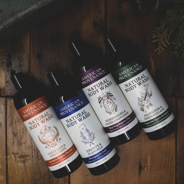 New Products! Natural Body Wash & Natural Beard Oil