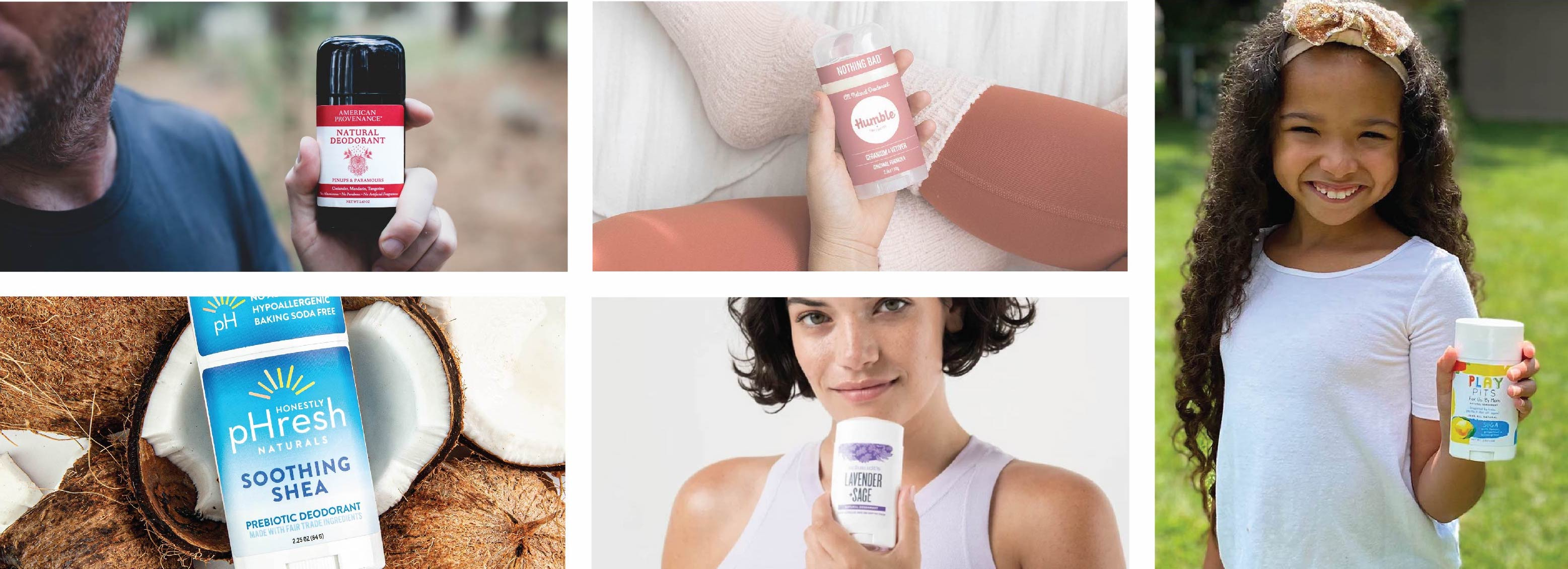 Founder of natural deodorant company names his top 10 choices for natural deodorant