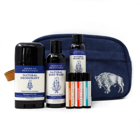 American Provenance Natural Deodorant Travel Set