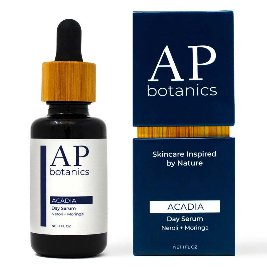 AP Botanics Natural Skin Care Acadia Day Serum Face Oil Neroli & Moringa