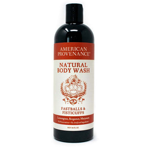 American Provenance Natural Body Wash 16 fl oz Fastballs & Fisticuffs Scent (Lemongrass, Bergamot, Marjoram)