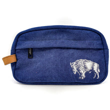 Load image into Gallery viewer, American Provenance Canvas Dopp Kit Travel Toiletry Bag