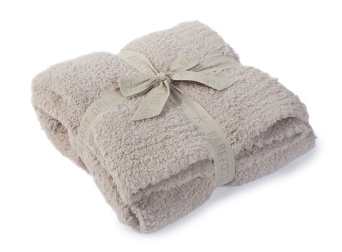 Barefoot Dreams Cozy Chic Throw in Stone