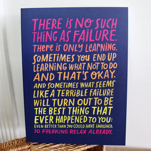 On Failure Journal