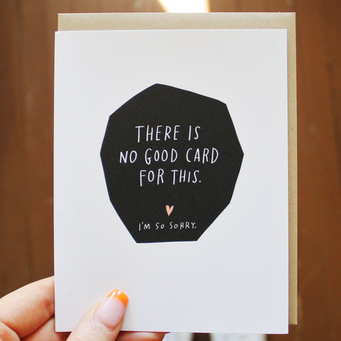 No Good Card For This by Emily Mcdowell