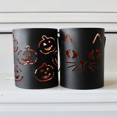 Halloween Tealight Lanterns