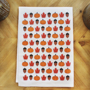 Fall Day Tea Towel by Coast and Cotton