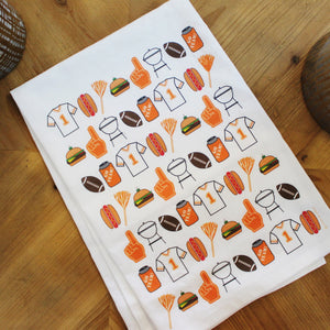 Tailgate Tea Towel by Coast and Cotton
