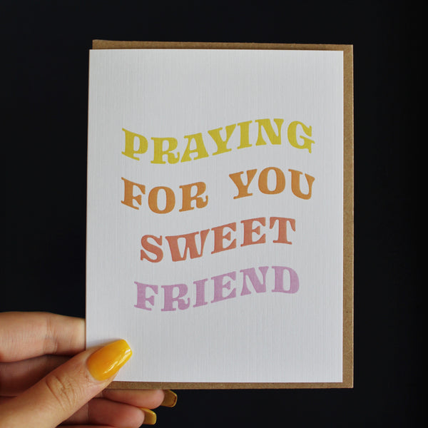 Praying For You Card by Live Love Studio