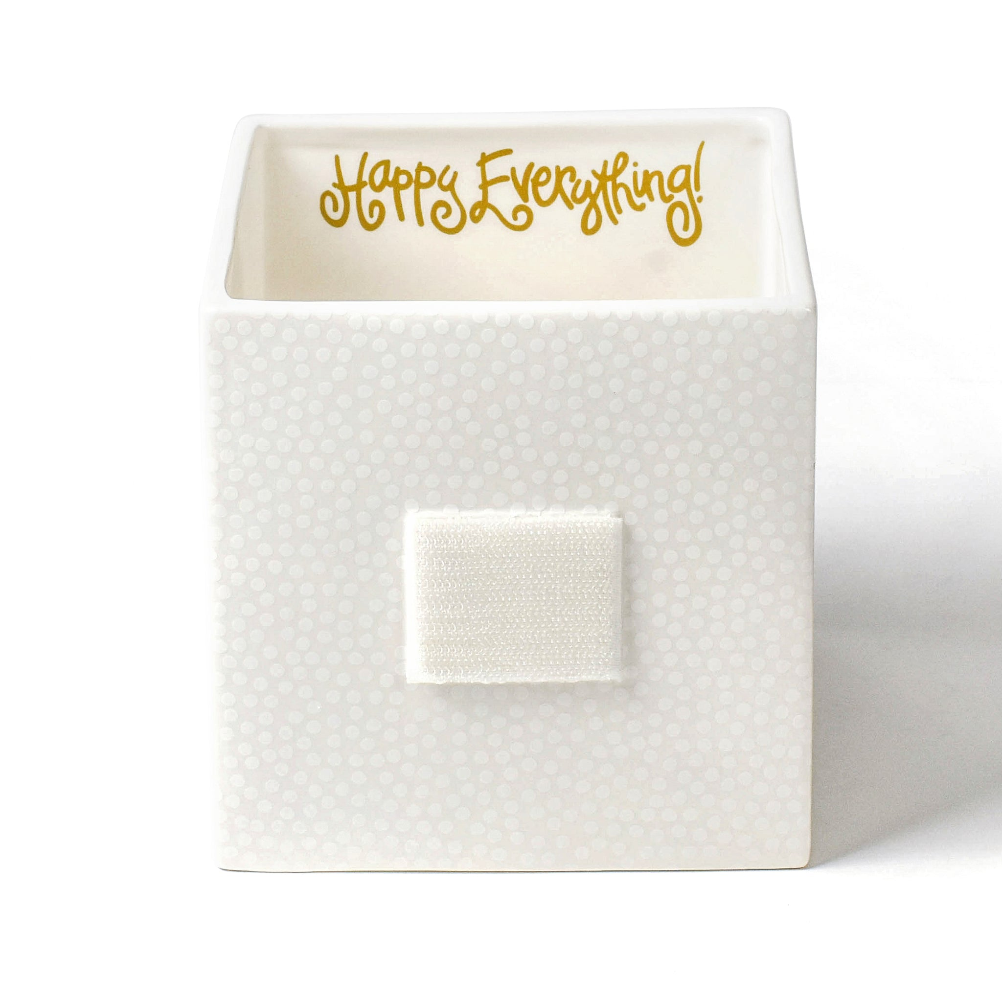 Happy Everything Medium Nesting Cube Small Dot