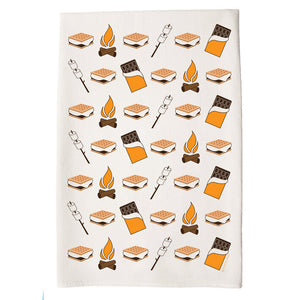 Smores Tea Towel by Coast and Cotton
