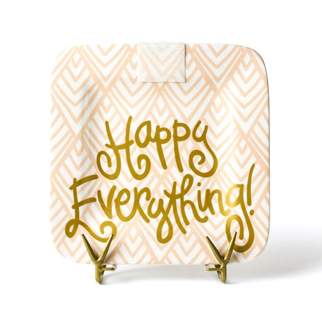 Happy Everything Layered Diamond Mini Platter