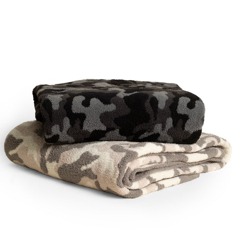 Barefoot Dreams Cozy Chic Camo Throws