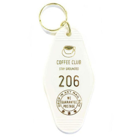 Coffee Club Hotel Key Tag