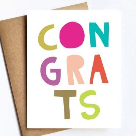Congrats Card by Live Love Studio