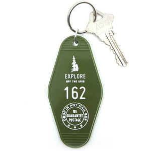 Explore Hotel Key Tag