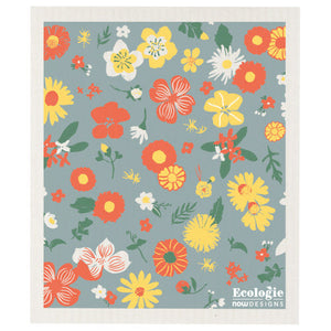 Swedish Sponge Cloth - Flowers of the Month
