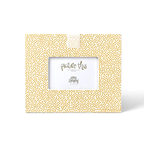 Happy Everything Gold Small Dot Mini Frame