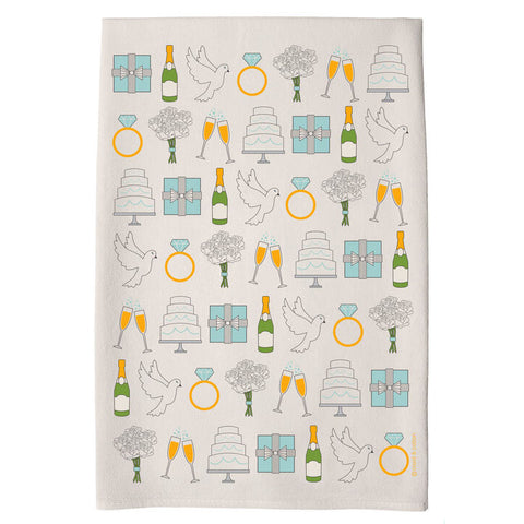 I Do Tea Towel by Coast and Cotton