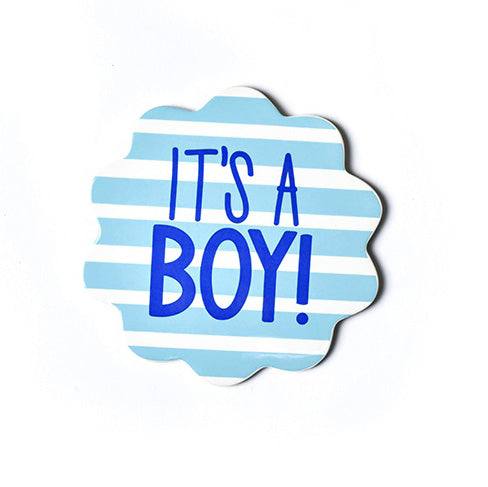 Happy Everything It's A Boy Mini Attachment