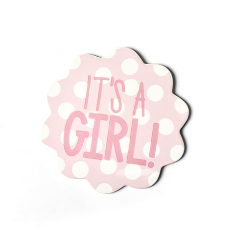 Happy Everything It's A Girl Mini Attachment