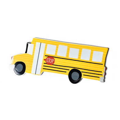 Happy Everything School Bus Mini Attachment